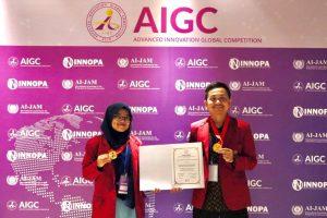 Delegasi Agroteknologi fakultas Pertanian UMY  Raih Medali Emas Pada Kompetisi Teknologi Inovasi di Singapura