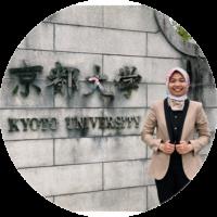 Nurul Amaliyah Tanjung, S.P. - Double Master Degree di Kyoto University -
